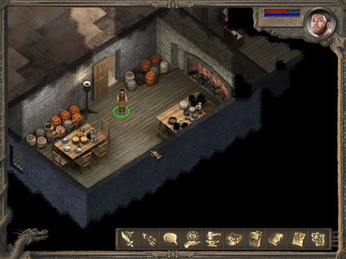 www.gemostonedragon.com single player flash RPG screenshot